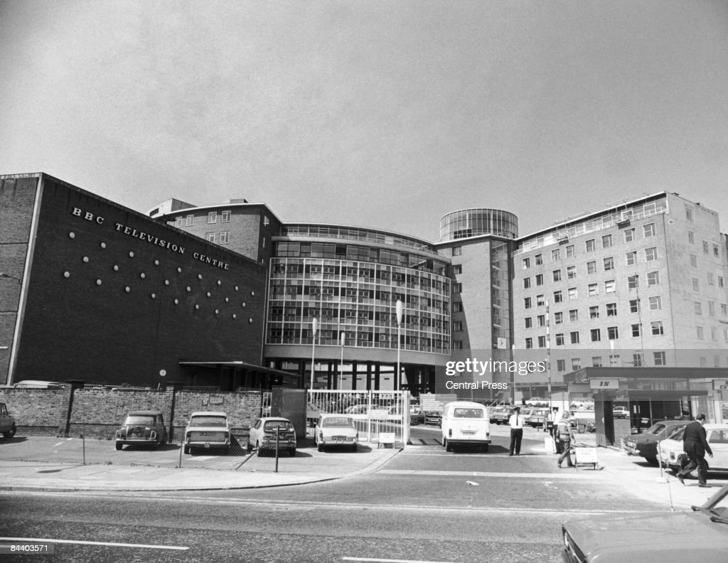The BBC Television Centre in west London, 1980.