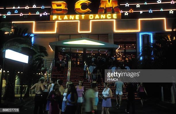 The BCM Planet Dance complex Magaluf Majorca 1990s