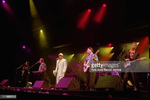 The Beach Boys during Red Cross Ball 2001 Beach Boys Performance at MonteCarlo Sporting Club in MonteCarlo Monaco