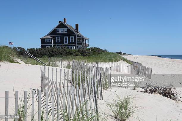 The beach in Wainscott Kilkare house built in 1879 is one of the most spectacular of the East End on August 2013 in the HamptonsNY