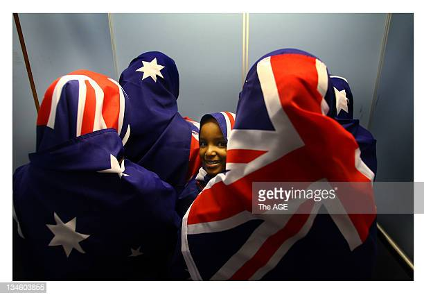 The beaming smile of Isir Mohamud a SomaliAustralian is worth a thousand words as she plays her part in breaking down the barriers To mark Harmony...