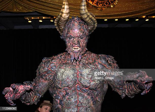 The Beast during Sixth Annual 'Buffy the Vampire Slayer' Posting Board Party to Benefit the MakeAWish Foundation at American Legion Hall in Hollywood...