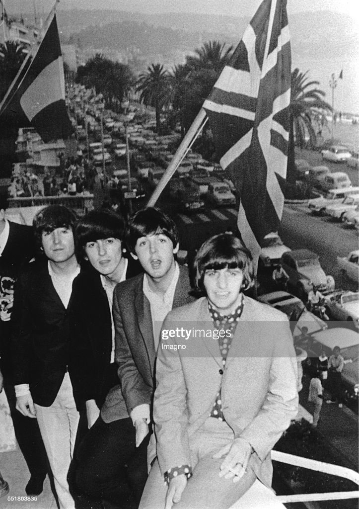 <a gi-track='captionPersonalityLinkClicked' href=/galleries/search?phrase=The+Beatles&family=editorial&specificpeople=90369 ng-click='$event.stopPropagation()'>The Beatles</a> at the Cote D´Azur. France. Photograph. 1965.