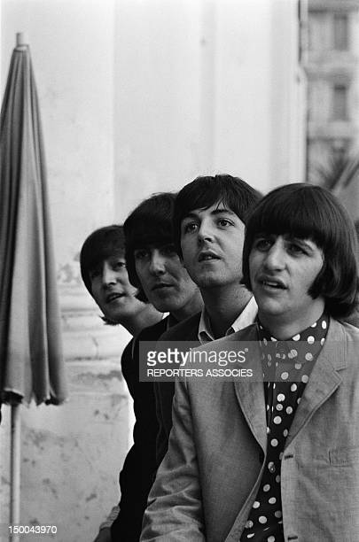 The Beatles at the Negresco hotel on June 30 1965 in Nice France