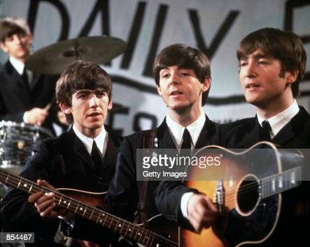 The Beatles perform in November 1963 58 year old exBeatle band member George Harrison died of cancer November 30 2001 in Los Angeles California