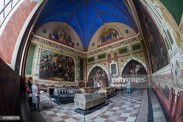 Die wunderschöne Kapelle von König Christian IV. in Roskilde catheral
