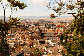 The beautiful Granada in Spain and its province
