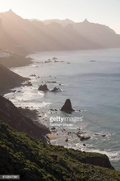 The beautiful northern coastline of Tenerife