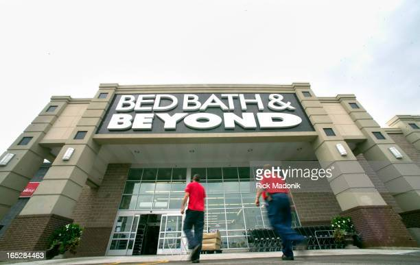 120827 MISSISSAUGA ONTARIO The Bed Bath and Beyond on Argentia Road in Mississauga