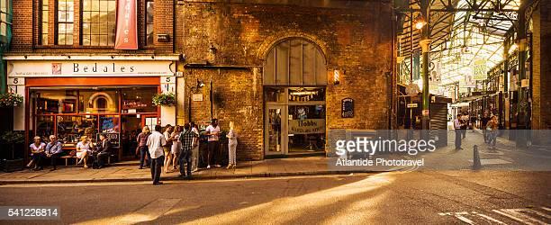 The Bedales pub near the entrance of Borough Market