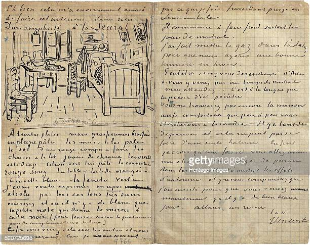 The bedroom Letter to Paul Gauguin from Arles Wednesday 17 October 1888 Found in the collection of Van Gogh Museum Amsterdam