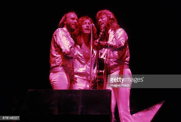 The Bee Gees circa 1979 in New York City