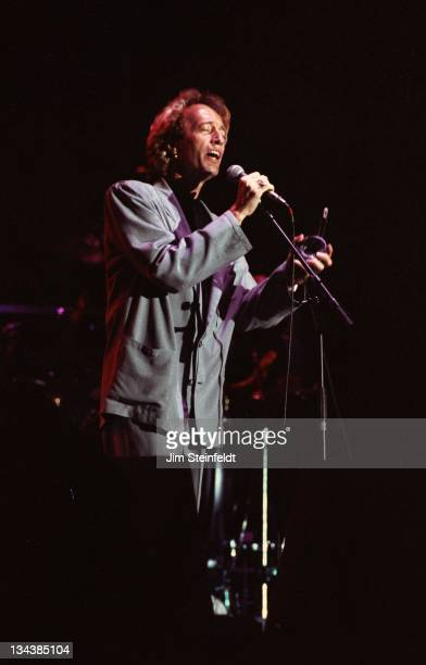 The Bee Gees perform at Riverfest in St Paul Minnesota in 1989