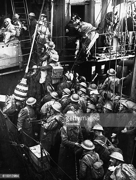 The BEF is evacuated from Dunkirk June 1940