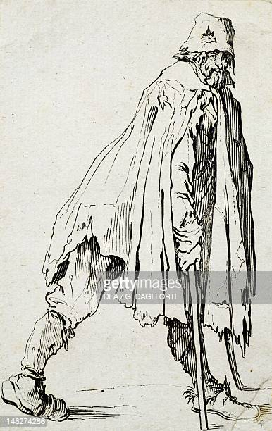 The beggars by Jaques Callot etching Nancy Musée Historique Lorrain