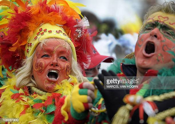 The beginning of the carnival season is celebrated on the Vrijthof in Maastricht The Netherlands The season officially begins on 11 November at...