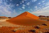 The beginning of the dune