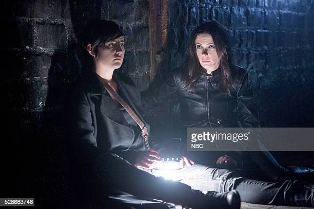 GRIMM 'The Beginning of the End' Episode 522 Pictured Jacqueline Toboni as Trubel Bitsie Tulloch as Eve