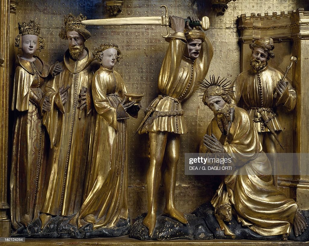 the beheading of saint john the baptist pictures getty images