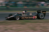 The Belgian Grand Prix Zolder May 21 1978 Mario Andretti on his way to a win in the Lotus 79 taking another step toward his World Championship
