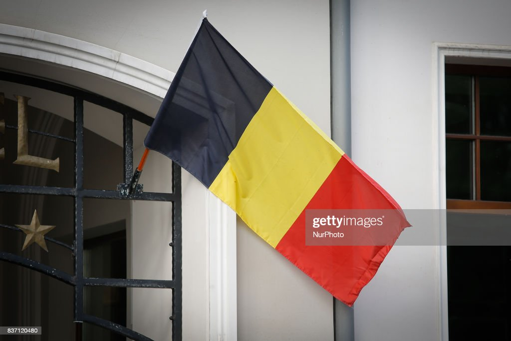 The Belgian Honorary Consulate is seen Marshall Focha street in Bydgoszcz, Poland on 19 August, 2017.