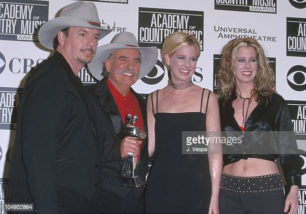 The Bellamy Brothers and The Kinleys during The 35th Annual Academy of Country Music Awards Arrivals and Press Room at Universal Amphitheater in...