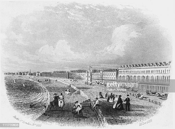 The Belvidere Esplanade Weymouth Dorset 20th December 1855 By Rock Co London