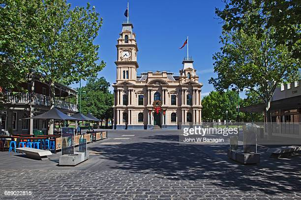 The Bendigo Town Hall. Victoria, Australia