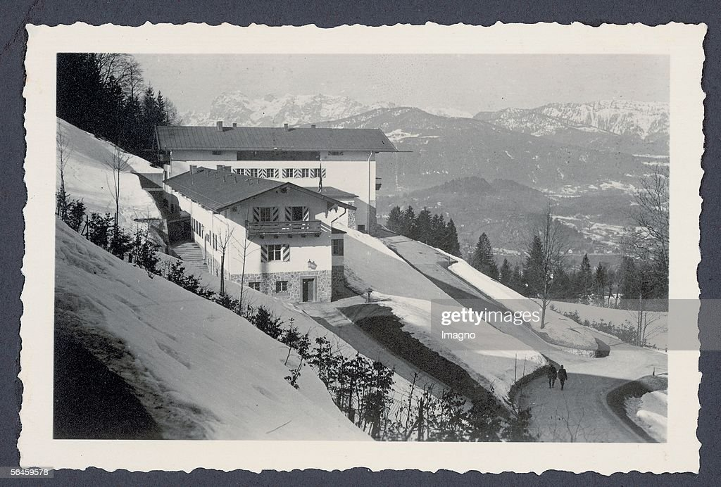The berghof of adolf hitler at the obersalzberg near berchtesgaden