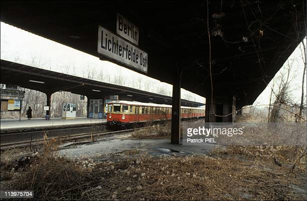 The Berlin SBahn in Berlin Germany In July 1985The S Bahn route through the North South tunnel has an interesting history which mirrors the political...