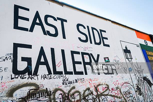 Der East Side Gallery/Berliner Mauer