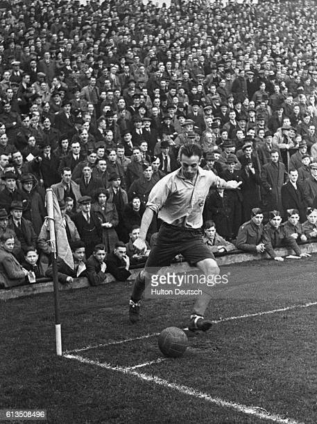 The best footballer the war has produced He is now playing in the RAF Stanley Matthews was a football hero before the war but now he has reached his...