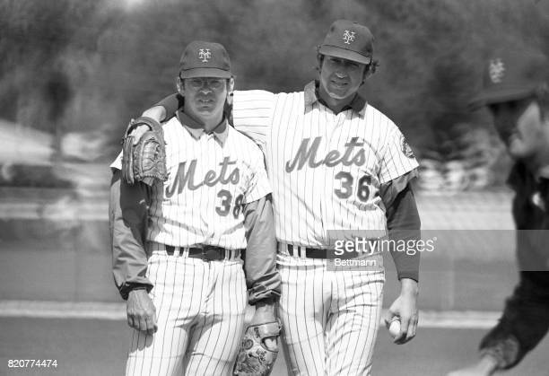 The best friend a starting pitcher can have is a good relief pitcher to bail him out of trouble The Mets' Jerry Koosman has Skip Lockwood and he's...