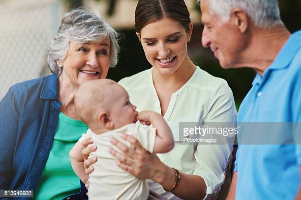 The best parents get promoted to grandparents