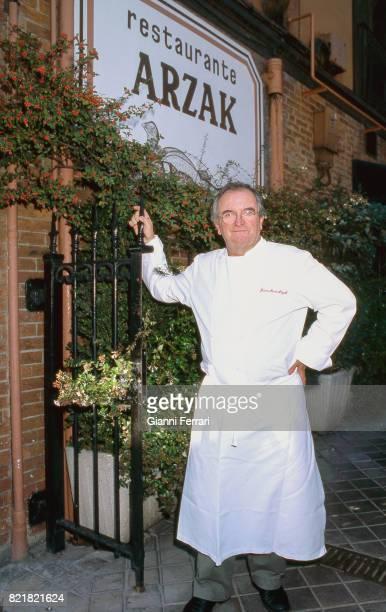 The best Spanish chefs Juan Mari Arzak chef of the Restaurant 'Arzak' San Sebastian Guipuzcoa Spain