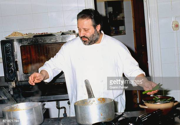 The best Spanish chefs Manuel de la Osa chef of the Restaurant 'Las Rejas' Las Pedroñeras Cuenca Spain