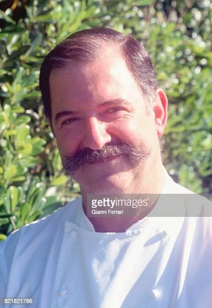 The best Spanish chefs Pedro Subijana chef of the Restaurant 'Akelarre' San Sebastian Guipuzcoa Spain