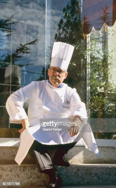The best Spanish chefs Salvador Gallego chef of the Restaurant 'El Cenador de Salvador' Madrid Spain
