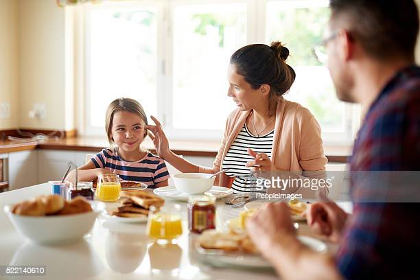 The best way to start the day is with family