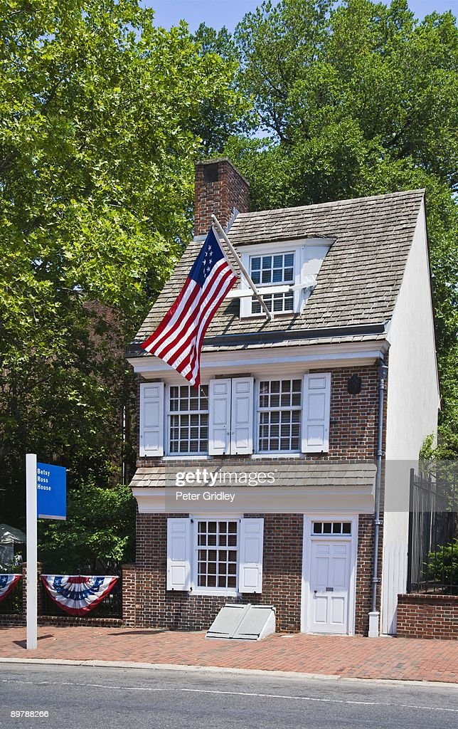 The Betsy Ross house, Philadelphia, Pennsylvania : Stock Photo