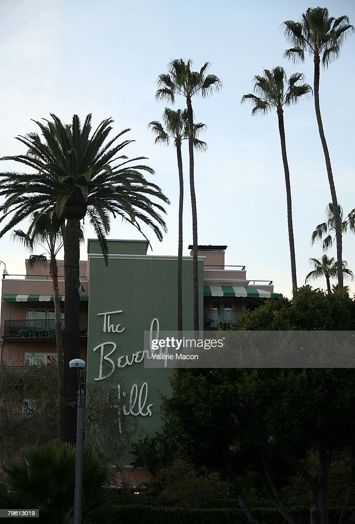 The Beverly Hills Hotel where singer Britney Spears is staying after being released from UCLA Medical Center February 6 2007 in Beverly Hills...