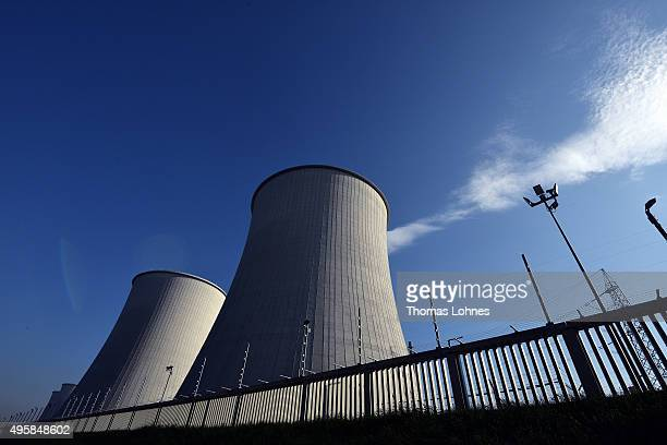 The Biblis nuclear power plant pictured on November 5 2015 in Biblis Germany German Chancellor Angela Merkel is scheduled to testify this coming...