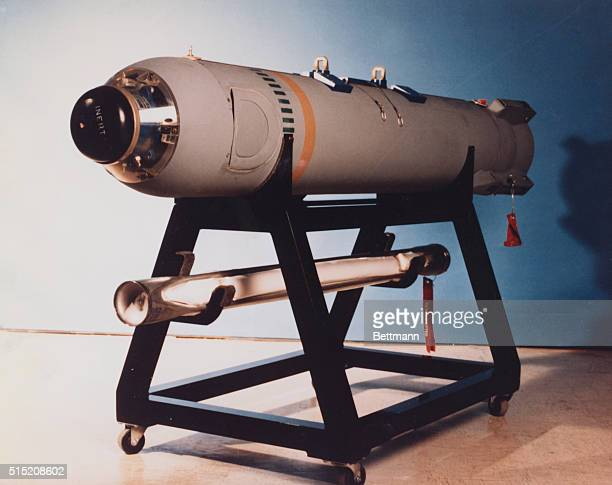 The Big Eye Bomb an aircraft delivered binary chemical bomb This is the first weapon to generate a persistent nerve agent from two nontoxic chemicals...