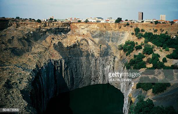 The Big Hole diamond mine in Kimberley closed in 1914 South Africa