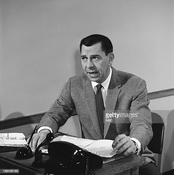DRAGNET 'The Big Kids' Episode 16 Aired 05/04/67 Pictured Jack Webb as Sgt Joe Friday