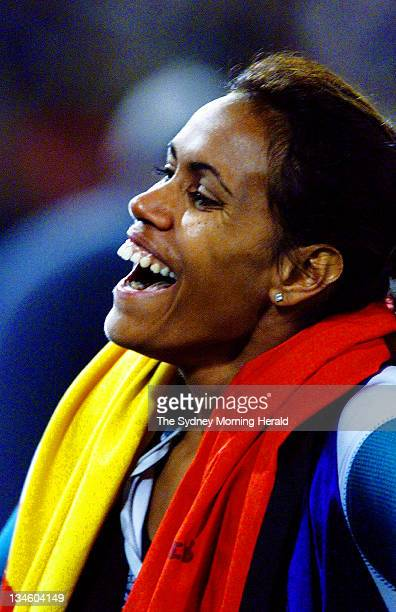 The Big Picture Cathy Freeman after winning the 400 metres at the Sydney Olympics Australia's 100th gold medal 25 September 2000