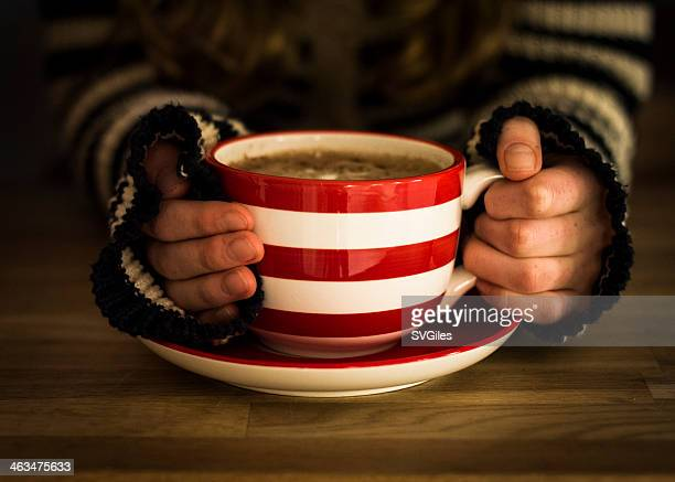 The big striped cup