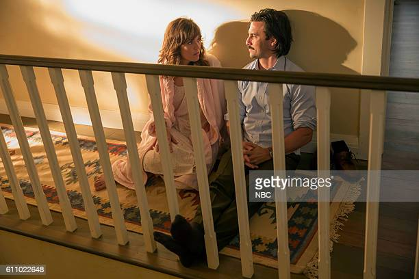 US 'The Big Three' Episode 102 Pictured Mandy Moore as Rebecca Milo Ventimiglia as Jack