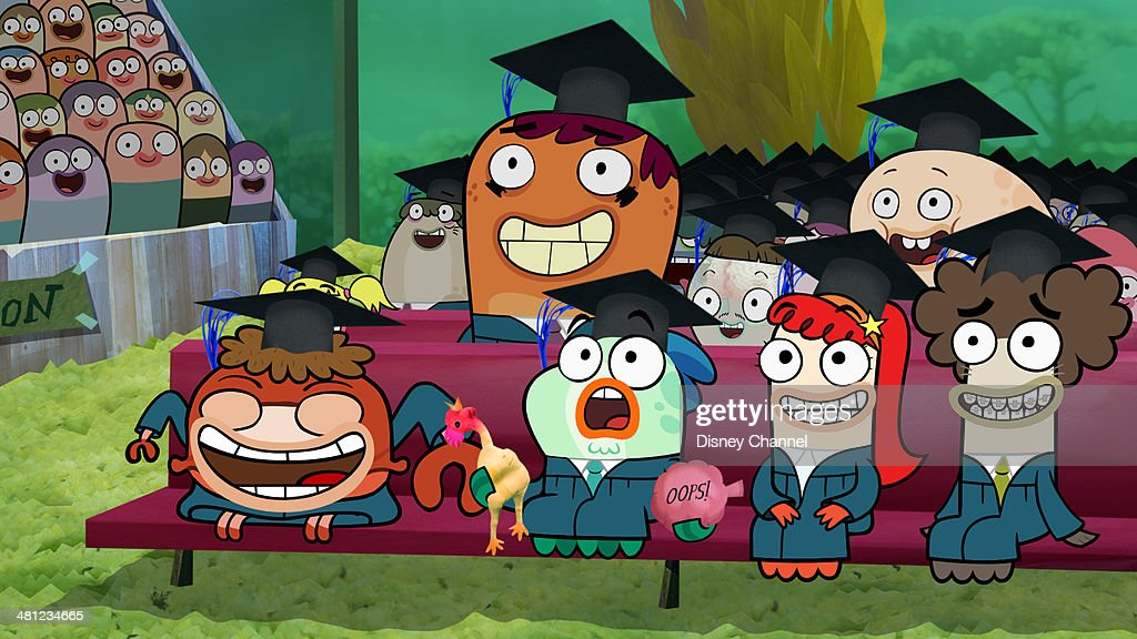 HOOKS - 'The Big Woo' - It's graduation week at Freshwater High and with school ending and emotions running rampant, Bea and Oscar's friendship is tested when they grapple with the idea of finally admitting their feelings for one another. The series finale of 'Fish Hooks' will air Friday, April 04 (9:00 PM - 9:30 PM ET/PT), on Disney Channel.