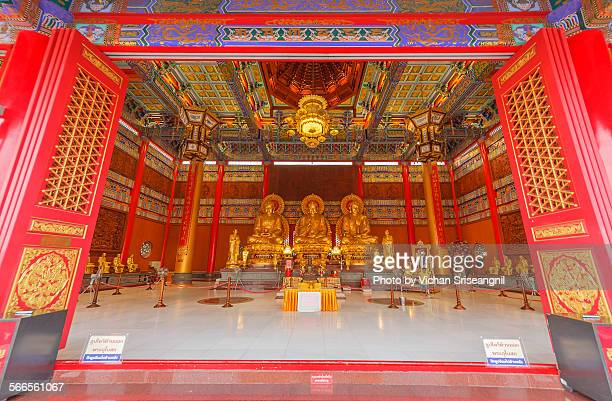 The biggest chinese temple of Thailand